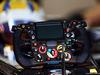 TEST F1 ABU DHABI 26 NOVEMBRE, Lotus F1 E22 steering wheel. 26.11.2014.