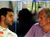 TEST F1 ABU DHABI 26 NOVEMBRE, (L to R): Daniel Ricciardo (AUS) Red Bull Racing with Dr Helmut Marko (AUT) Red Bull Motorsport Consultant. 26.11.2014.