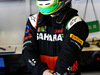 TEST F1 ABU DHABI 26 NOVEMBRE, Spike Goddard (AUS) Sahara Force India F1 Team Test Driver. 26.11.2014.