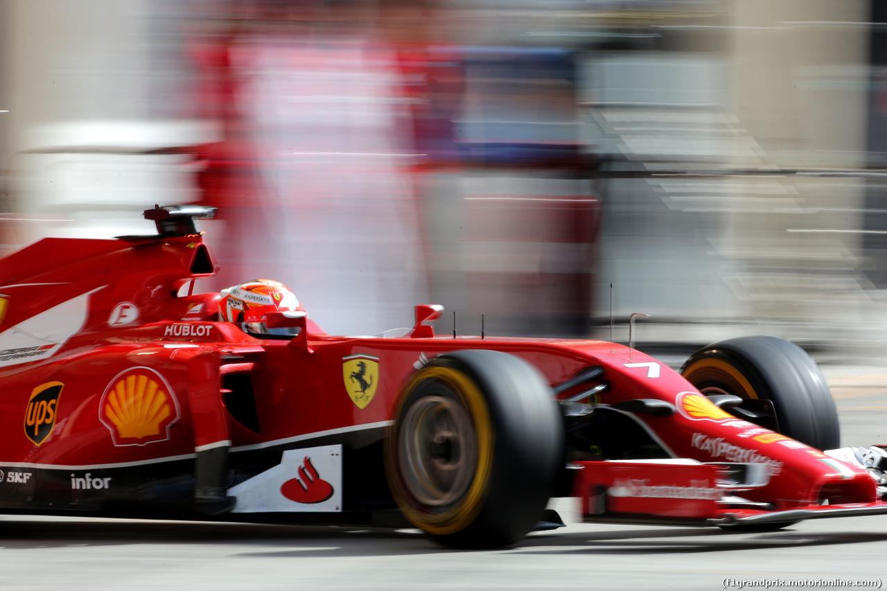 Kimi Raikkonen (Ferrari F14 T)