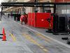 TEST F1 BAHRAIN 01 MARZO, Ferrari pit box e garages with screens up. 01.03.2014. Formula One Testing, Bahrain Test Two, Day Three, Sakhir, Bahrain.