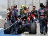 TEST F1 BAHRAIN 01 MARZO, Sebastian Vettel (GER), Red Bull Racing stops on track 01.03.2014. Formula One Testing, Bahrain Test Two, Day Three, Sakhir, Bahrain.