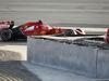 TEST F1 BAHRAIN 01 MARZO, Kimi Raikkonen (FIN) Ferrari F14-T passes team mate Fernando Alonso (ESP) Ferrari. 01.03.2014. Formula One Testing, Bahrain Test Two, Day Three, Sakhir, Bahrain.