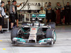 TEST F1 BAHRAIN 27 FEBBRAIO, Nico Rosberg (GER) Mercedes AMG F1 W05 leaves the pits. 27.02.2014. Formula One Testing, Bahrain Test Two, Day One, Sakhir, Bahrain.