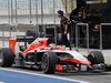 TEST F1 BAHRAIN 28 FEBBRAIO, Jules Bianchi (FRA) Marussia F1 Team MR03. 28.02.2014. Formula One Testing, Bahrain Test Two, Day Two, Sakhir, Bahrain.