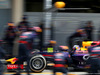 TEST F1 BAHRAIN 28 FEBBRAIO, Daniel Ricciardo (AUS), Red Bull Racing during pitstop practice 28.02.2014. Formula One Testing, Bahrain Test Two, Day Two, Sakhir, Bahrain.