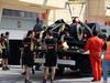 TEST F1 BAHRAIN 28 FEBBRAIO, Pastor Maldonado (VEN), Lotus F1 Team stops on track 28.02.2014. Formula One Testing, Bahrain Test Two, Day Two, Sakhir, Bahrain.