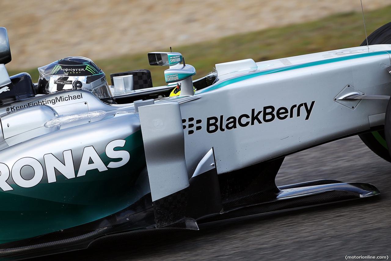 Mercedes W05 - Nico Rosberg