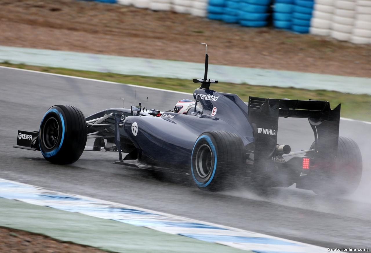 Bottas test Jerez