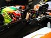 TEST F1 JEREZ 29 GENNAIO, Sergio Perez (MEX) Sahara Force India F1 VJM07. 29.01.2014. Formula One Testing, Day Two, Jerez, Spain.
