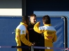 TEST F1 JEREZ 30 GENNAIO, 30.01.2014- Renault tecnichian