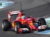TEST F1 JEREZ 30 GENNAIO, Fernando Alonso (ESP) Ferrari F14-T. 30.01.2014. Formula One Testing, Day Three, Jerez, Spain.