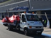 TEST F1 JEREZ 30 GENNAIO, Fernando Alonso (ESP), Ferrari stops on track 30.01.2014. Formula One Testing, Day Three, Jerez, Spain.
