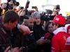 TEST F1 JEREZ 30 GENNAIO, Fernando Alonso (ESP) Ferrari with the media. 30.01.2014. Formula One Testing, Day Three, Jerez, Spain.