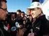 TEST F1 JEREZ 30 GENNAIO, Nico Hulkenberg (GER) Sahara Force India F1 with the media. 30.01.2014. Formula One Testing, Day Three, Jerez, Spain.