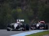 TEST F1 JEREZ 31 GENNAIO, Adrian Sutil (GER), Sauber F1 Team e Daniil Kvyat (RUS), Scuderia Toro Rosso  31.01.2014. Formula One Testing, Day Four, Jerez, Spain.