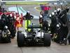 TEST F1 JEREZ 31 GENNAIO, Nico Rosberg (GER) Mercedes AMG F1 W05 makes a pit stop. 31.01.2014. Formula One Testing, Day Four, Jerez, Spain.