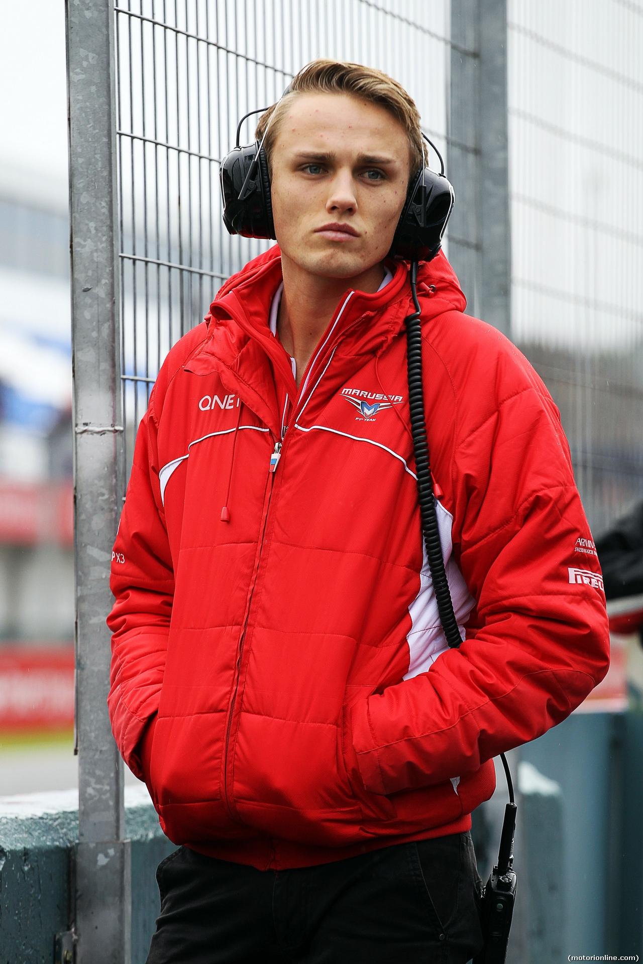 TEST F1 JEREZ 31 GENNAIO, Max Chilton (GBR) Marussia F1 Team. 31.01.2014. Formula One Testing, Day Four, Jerez, Spain.