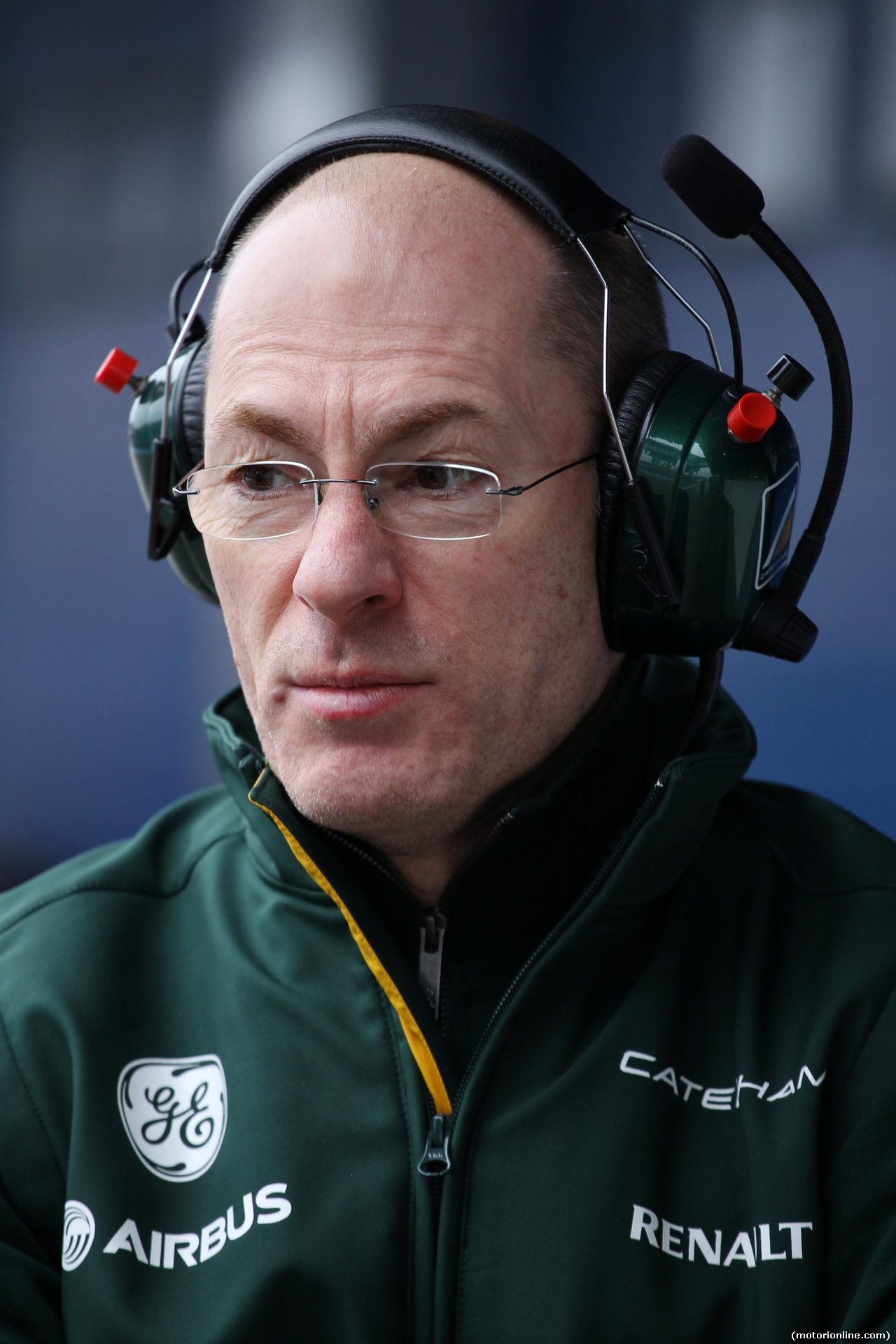 TEST F1 JEREZ 31 GENNAIO, Mark Smith (GBR) Caterham F1 Team Technical Director. 31.01.2014. Formula One Testing, Day Four, Jerez, Spain.