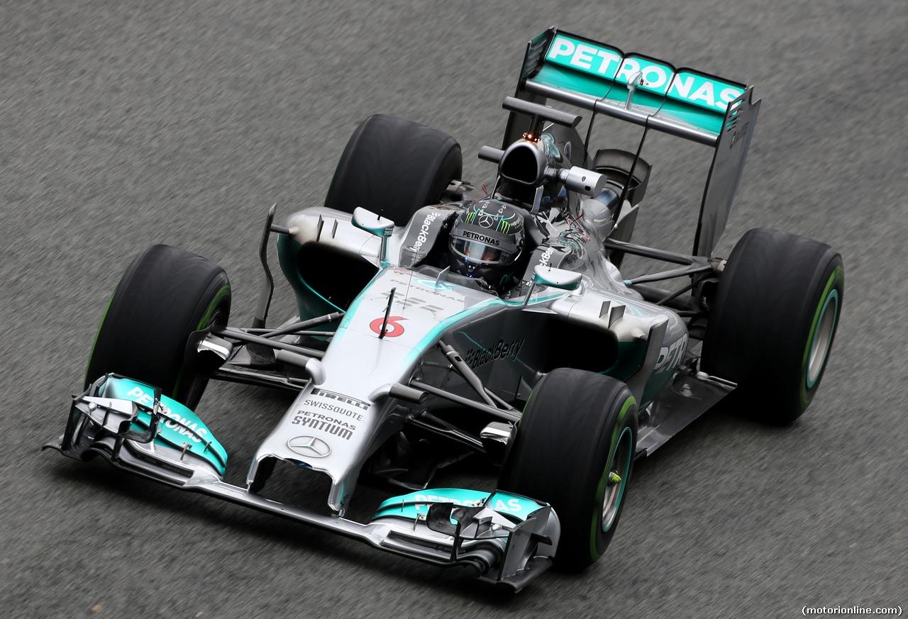 TEST F1 JEREZ 31 GENNAIO, Nico Rosberg (GER), Mercedes AMG F1 Team  31.01.2014. Formula One Testing, Day Four, Jerez, Spain.