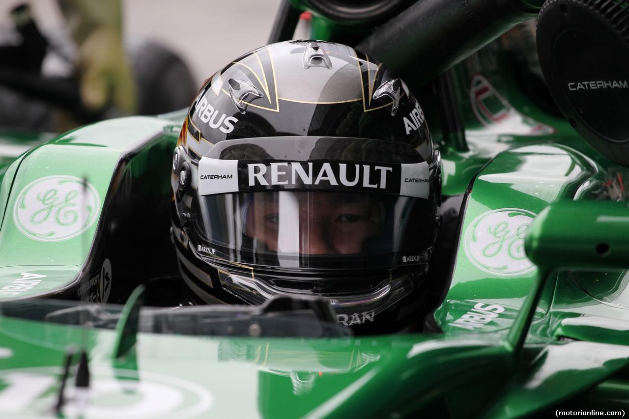 TEST F1 JEREZ 31 GENNAIO, Kamui Kobayashi (JPN) Caterham CT05. 31.01.2014. Formula One Testing, Day Four, Jerez, Spain.