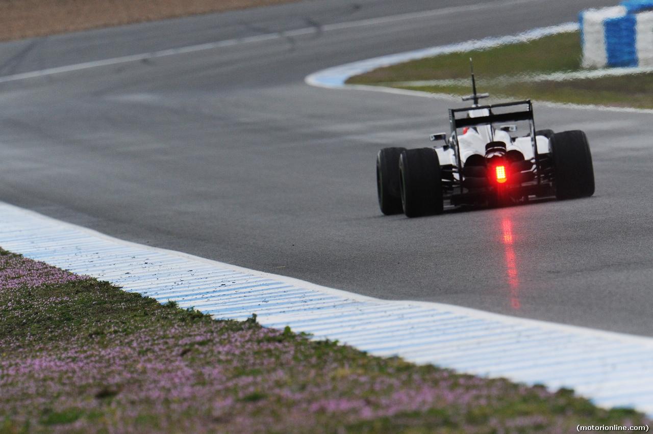 TEST F1 JEREZ 31 GENNAIO, Kevin Magnussen (DEN) McLaren MP4-29. 31.01.2014. Formula One Testing, Day Four, Jerez, Spain.