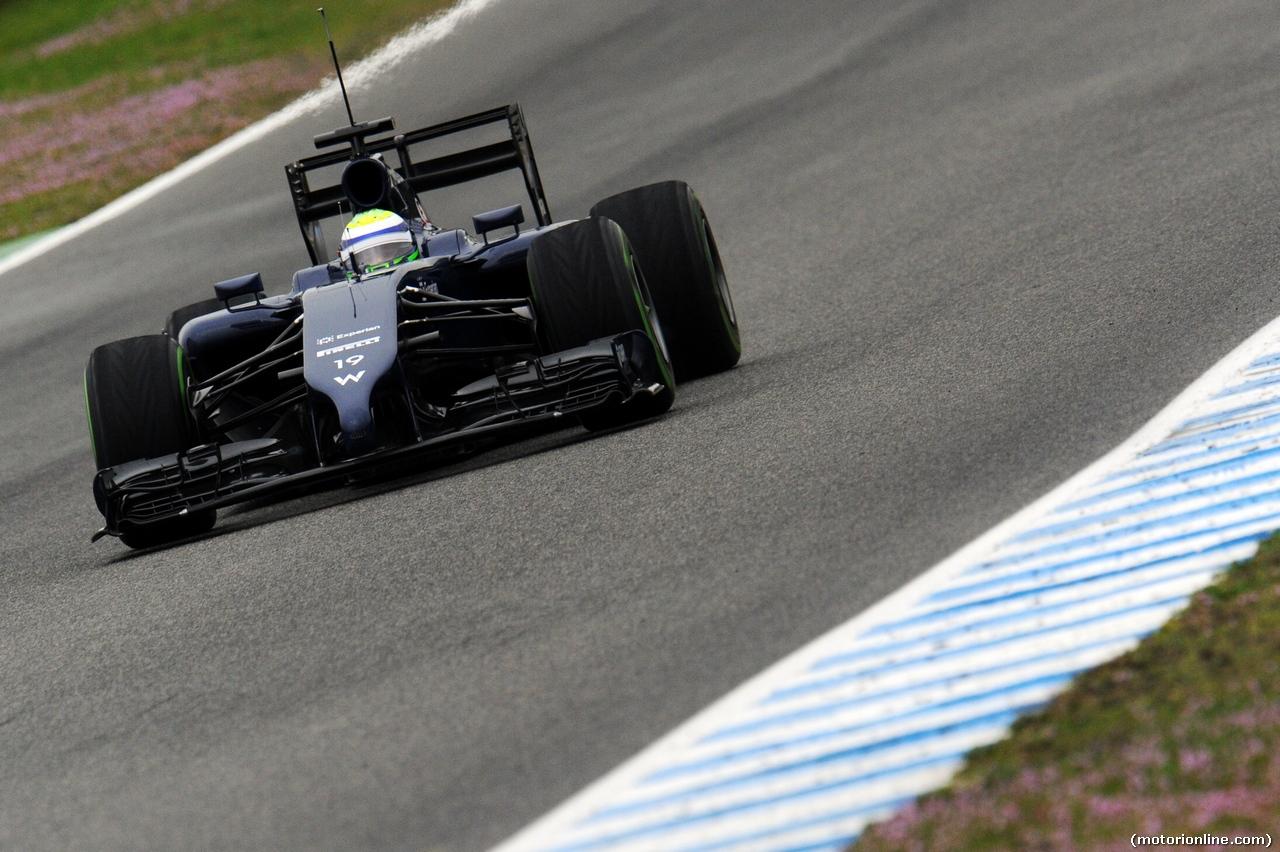 TEST F1 JEREZ 31 GENNAIO, Felipe Massa (BRA) Williams FW36. 31.01.2014. Formula One Testing, Day Four, Jerez, Spain.
