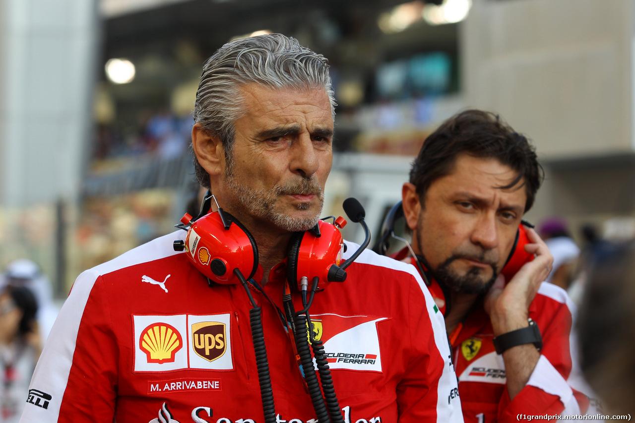 GP ABU DHABI, 29.11.2015 - Gara, Maurizio Arrivabene (ITA) Ferrari Team Principal