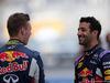 GP ABU DHABI, 29.11.2015 - Daniil Kvyat (RUS) Red Bull Racing RB11 e Daniel Ricciardo (AUS) Red Bull Racing RB11