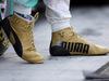 GP ABU DHABI, 29.11.2015 - The shoes of Lewis Hamilton (GBR) Mercedes AMG F1 W06
