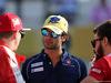 GP ABU DHABI, 29.11.2015 - Kimi Raikkonen (FIN) Ferrari SF15-T, Felipe Nasr (BRA) Sauber C34 e William Stevens (GBR) Manor Marussia F1 Team