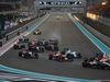 GP ABU DHABI, 29.11.2015 - Gara, Start of the race, Daniil Kvyat (RUS) Red Bull Racing RB11 e Felipe Massa (BRA) Williams F1 Team FW37