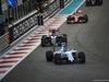 GP ABU DHABI, 29.11.2015 - Gara, Valtteri Bottas (FIN) Williams F1 Team FW37 davanti a Max Verstappen (NED) Scuderia Toro Rosso STR10