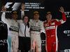 GP ABU DHABI, 29.11.2015 - Gara, 1st position Nico Rosberg (GER) Mercedes AMG F1 W06, secondo Lewis Hamilton (GBR) Mercedes AMG F1 W06 e terzo Kimi Raikkonen (FIN) Ferrari SF15-T