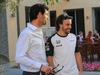 GP ABU DHABI, 29.11.2015 - Mark Webber e Fernando Alonso (ESP) McLaren Honda MP4-30