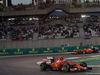 GP ABU DHABI, 29.11.2015 - Gara, Kimi Raikkonen (FIN) Ferrari SF15-T davanti a Sebastian Vettel (GER) Ferrari SF15-T
