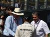 GP AUSTRALIA, 15.03.2015 - Ron Walker (AUS) Chairman of the Australian GP Corporation, Lewis Hamilton (GBR) Mercedes AMG F1 W06 e Pasquale Lattuneddu (ITA), FOM