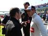 GP AUSTRALIA, 15.03.2015 - Gara, Pastor Maldonado (VEN) Lotus F1 Team E23 e Nicola Todt (FRA), Manager di Felipe Massa