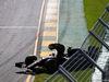 GP AUSTRALIA, 15.03.2015 - Gara, Crash, Pastor Maldonado (VEN) Lotus F1 Team E23 retires from the race