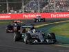 GP AUSTRALIA, 15.03.2015 - Gara, Lewis Hamilton (GBR) Mercedes AMG F1 W06 davanti a Max Verstappen (NED) Scuderia Toro Rosso STR10