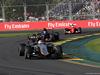 GP AUSTRALIA, 15.03.2015 - Gara, Sergio Perez (MEX) Sahara Force India F1 VJM08 davanti a Max Verstappen (NED) Scuderia Toro Rosso STR10
