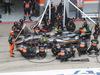 GP AUSTRIA, 21.06.2015- Gara, pit stop of Sergio Perez (MEX) Sahara Force India F1 Team VJM08