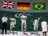 GP AUSTRIA, 21.06.2015- Podium, winner Nico Rosberg (GER) Mercedes AMG F1 W06, 2nd Lewis Hamilton (GBR) Mercedes AMG F1 W06 , 3rd Felipe Massa (BRA) Williams F1 Team FW37