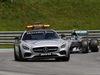 GP AUSTRIA, 21.06.2015- Gara, The safety Car davanti a the group