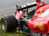 GP AUSTRIA, 21.06.2015- Gara, Kimi Raikkonen (FIN) Ferrari SF15-T car after the crash