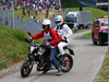 GP AUSTRIA, 21.06.2015- Gara, Fernando Alonso (ESP) McLaren Honda MP4-30 after the crash
