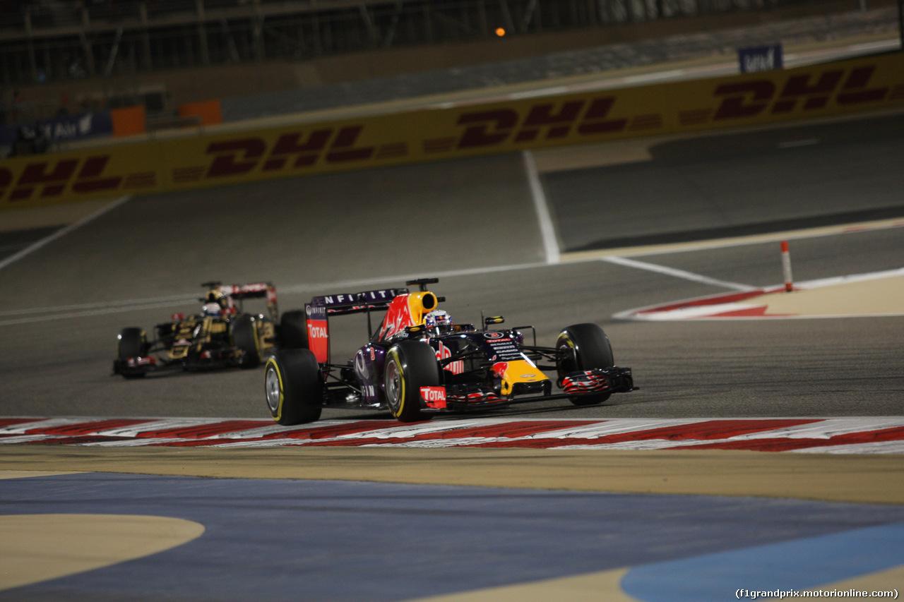 GP BAHRAIN, 19.04.2015 - Gara, Daniel Ricciardo (AUS) Red Bull Racing RB11