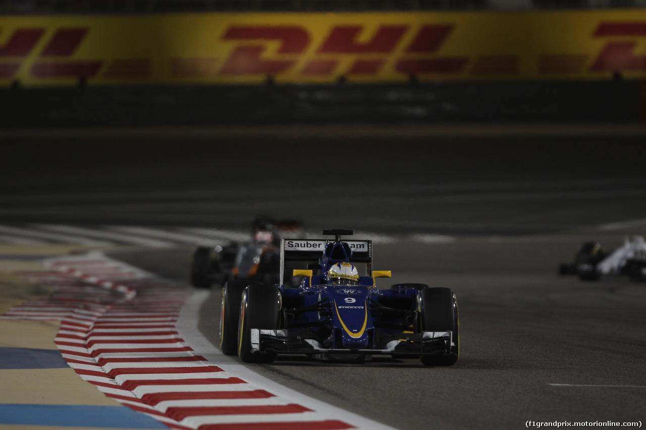 GP BAHRAIN, 19.04.2015 - Gara, Marcus Ericsson (SUE) Sauber C34