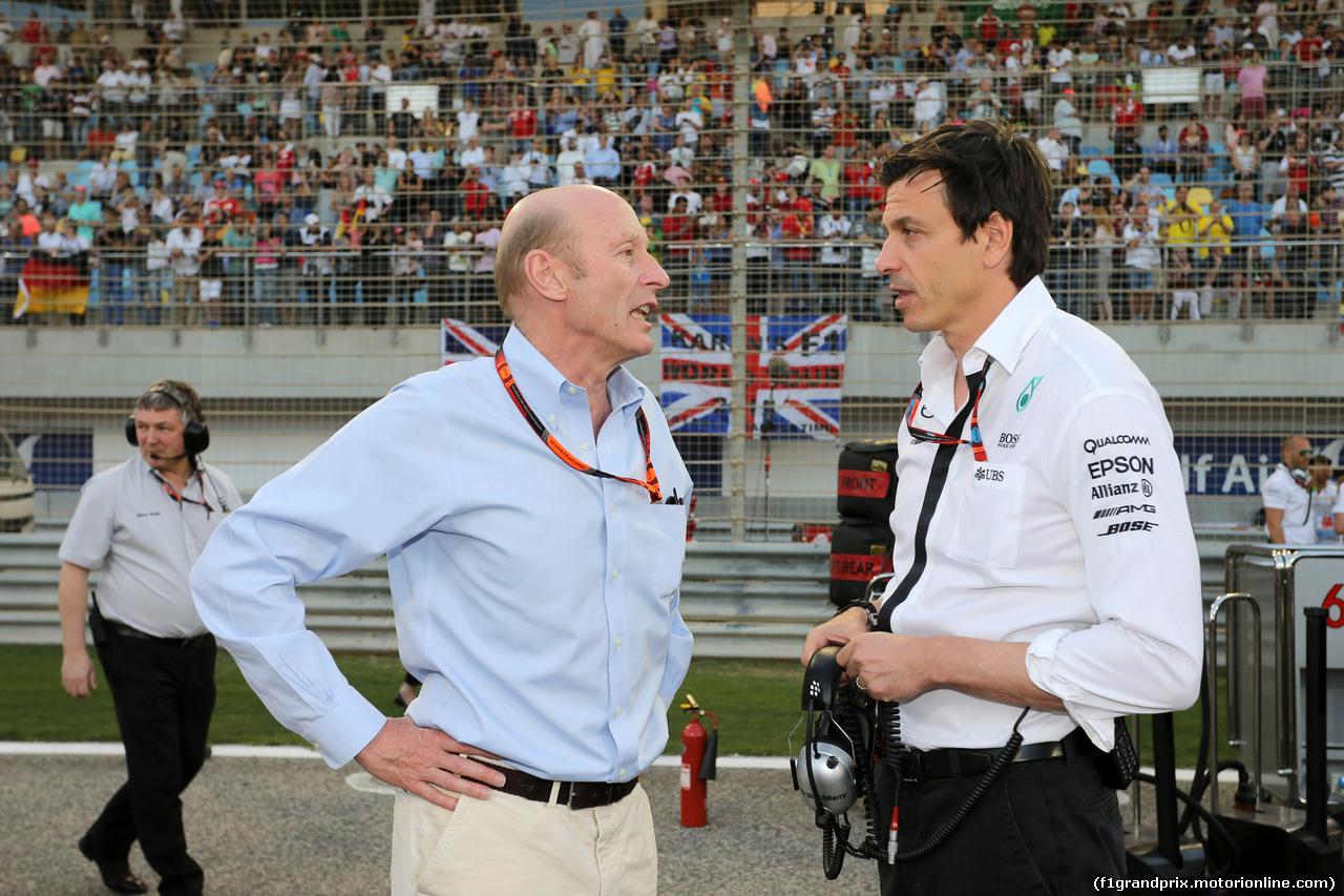 GP BAHRAIN, 19.04.2015 - Gara, Toto Wolff (GER) Mercedes AMG F1 Shareholder e Executive Director