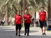 GP BAHRAIN, 16.04.2015 - (L) William Stevens (GBR) Manor Marussia F1 Team
